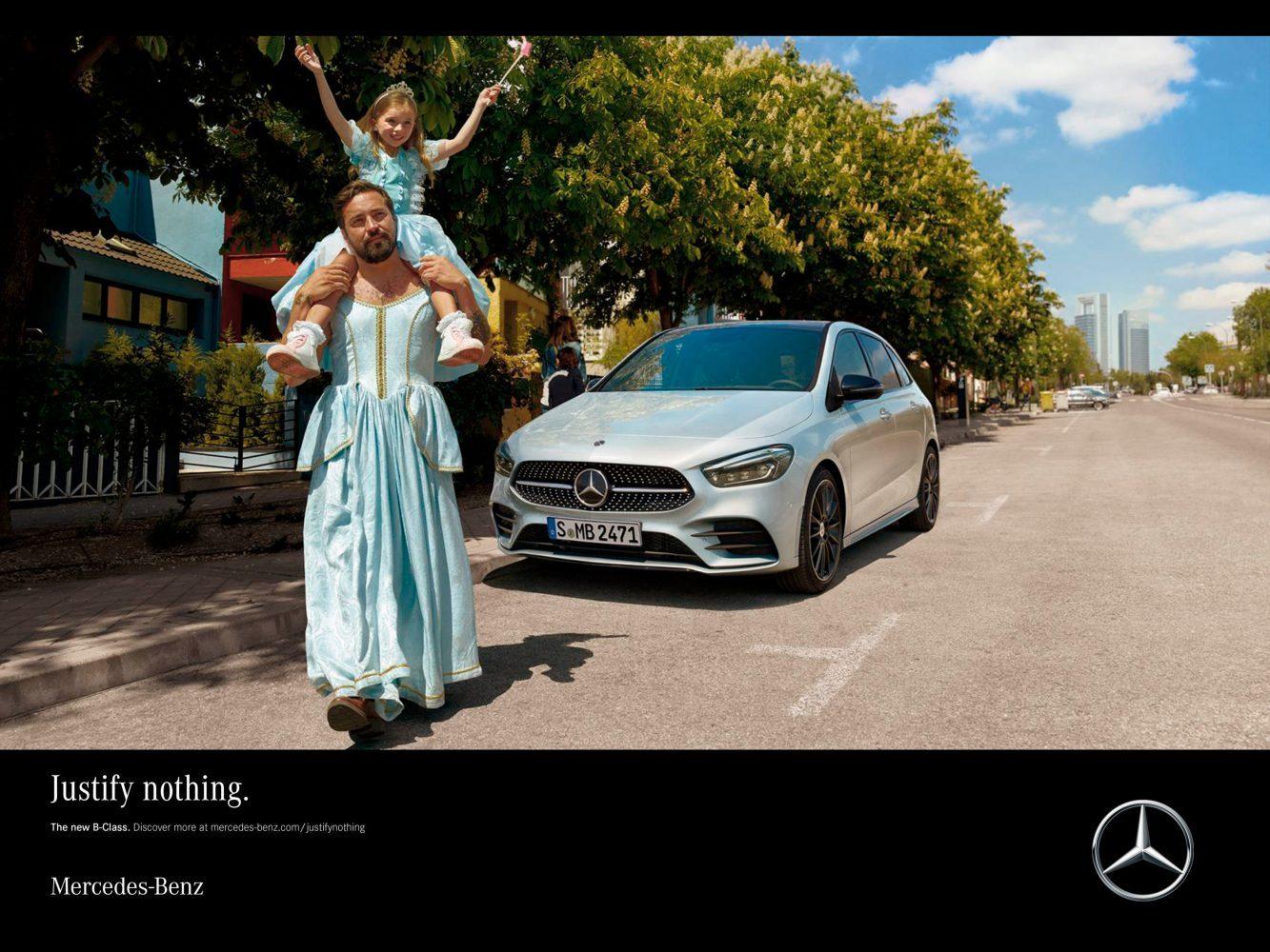 Spot publicitario para Mercedes Benz.