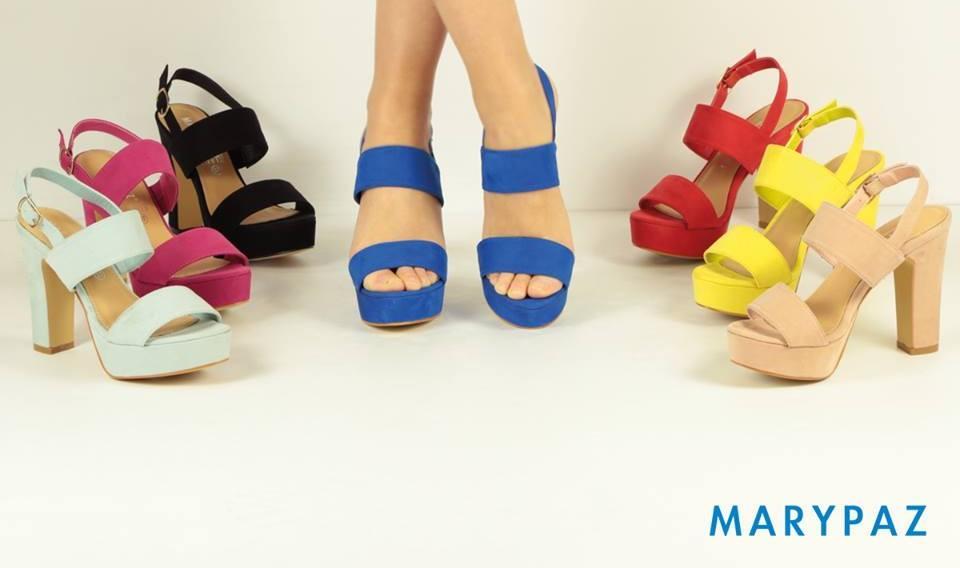 Modelo de piernas para la colección de Marypaz O-I '19