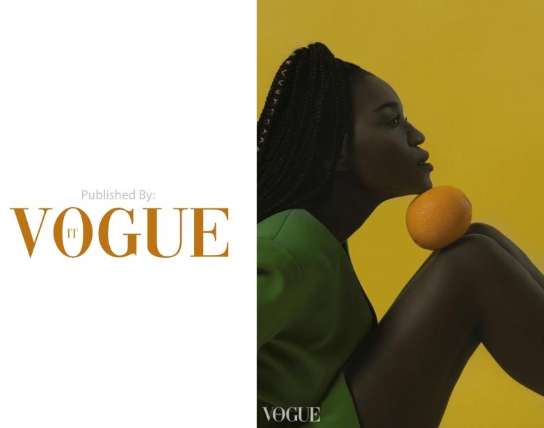 Editorial publicada en Vogue Italia