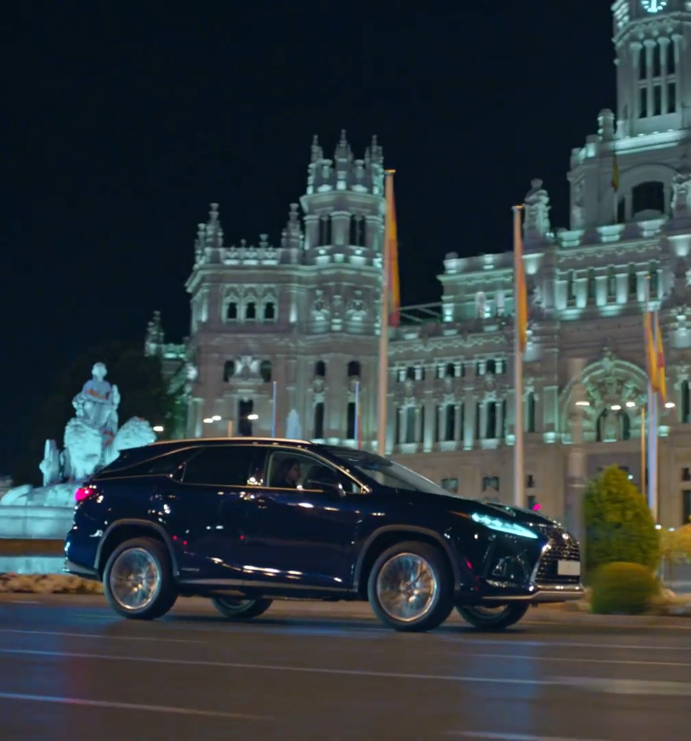 Publicidad para anuncio de Lexus